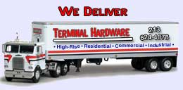 Terminal Hardware Store Delivers